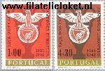 POR 933#934 Postfris 1963 EK voetbal- Benfica kampioen