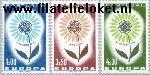 POR 963#965 Postfris 1964 C.E.P.T.- Bloem