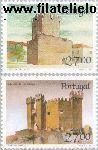 POR 1757#1758 Postfris 1988 Burchten en sloten