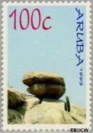 Aruba AR 121  1993 Rotsformaties 100 cent  Gestempeld