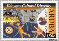 Aruba AR 232  1999 Culturele diversiteit 150 cent  Gestempeld