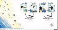 Aruba AR E111  2004 Watervogels  cent  FDC zonder adres