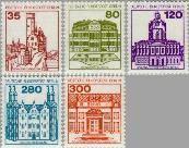 Berlin ber 673#677  1982 Burchten en kastelen  Postfris
