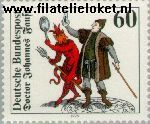 Bundesrepublik BRD 1030#  1979 Faust, Doctor J.  Postfris