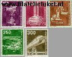 Bundesrepublik BRD 1134#1138  1982 Industrie en techniek  Postfris