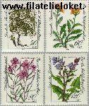 Bundesrepublik BRD 1188#1191  1983 Bloemen  Postfris