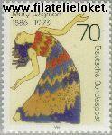 Bundesrepublik BRD 1301#  1986 Wigman, Mary  Postfris