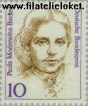 Bundesrepublik BRD 1359#  1988 Bekende vrouwen  Postfris