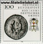 Bundesrepublik BRD 1451#  1990 Duitser Orden  Postfris