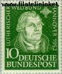Bundesrepublik BRD 149#  1952 Luther, Martin  Postfris