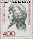 Bundesrepublik BRD 1582#  1992 Bekende vrouwen  Postfris