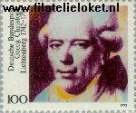 Bundesrepublik BRD 1617#  1992 Lichtenberg, Geirg Christoph  Postfris