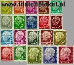Bundesrepublik BRD 177#196  1954 Heuss, Theodor  Postfris