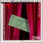 Bundesrepublik BRD 1857#  1996 Vereniging podiumkunsten  Postfris