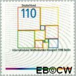Bundesrepublik BRD 2005#  1998 Int. wiskundigen congres  Postfris