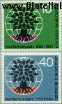 Bundesrepublik BRD 326#2327  1960 Wereld Vluchtelingenjaar  Postfris