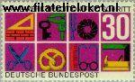 Bundesrepublik BRD 553#  1968 Handwerk  Postfris