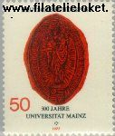 Bundesrepublik BRD 938#  1977 Universiteit Mainz  Postfris