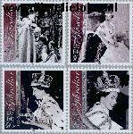 Gibraltar gib 1028#1031  2003 Kroningsjubileum  Postfris