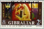Gibraltar gib 243#  1970 Glas-in-lood  Postfris