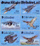 Gibraltar gib 880#885  1999 Valken en jachtvliegtuigen  Postfris