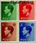 Groot-Brittannië grb 193#196  1936 Koning Edward VIII  Postfris