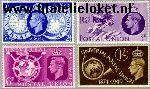 Groot-Brittannië grb 241#244  1949 U.P.U.  Postfris