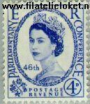 Groot-Brittannië grb 302#  1957 I.P.U.- Conferentie  Postfris