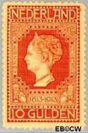 Nederland NL 101  1913 Onafhankelijkheid 1000 cent  Ongebruikt