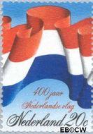 Nederland NL 1010  1972 Nederlandse vlag 20 cent  Gestempeld