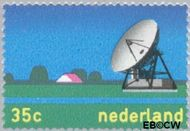 Nederland NL 1034  1973 Telecommunicatie 35 cent  Gestempeld