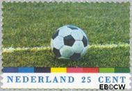 Nederland NL 1050  1974 WK Voetbal- West-Duitsland 25 cent  Gestempeld