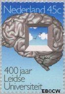 Nederland NL 1066  1975 Universiteit Leiden 45 cent  Gestempeld