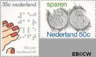 Nederland NL 1077#1078  1975 Diversen  cent  Gestempeld