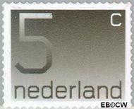 Nederland NL 1108b  2001 Cijfer type 'Crouwel' 5 cent  Gestempeld