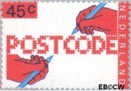 Nederland NL 1152  1978 Invoering postcode 45 cent  Postfris