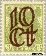 Nederland NL 116  1923 Opruimingsuitgifte 10#3 cent  Gestempeld