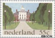 Nederland NL 1224#  1981 Paleizen  cent  Gestempeld