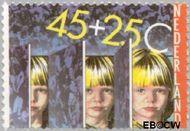 Nederland NL 1232  1981 Integratie en preventie 45+25 cent  Gestempeld