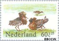 Nederland NL 1302  1984 Weidevogels 60+25 cent  Gestempeld