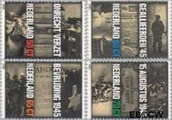 Nederland NL 1329#1332  1985 Verzet en bevrijding  cent  Postfris