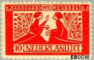 Nederland NL 135  1923 Tooropzegels 10+5 cent  Ongebruikt