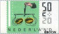 Nederland NL 1352a  1986 Meetinstrumenten 50+20 cent  Gestempeld