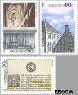 Nederland NL 1355#1357  1986 Utrecht  cent  Gestempeld