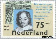 Nederland NL 1371  1987 Huygens, Constatijn 75 cent  Gestempeld