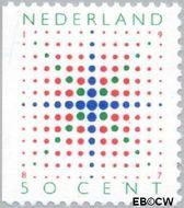 Nederland NL 1395  1987 Fonkelende ster 50 cent  Gestempeld