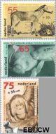 Nederland NL 1399#1401  1988 Dieren  cent  Gestempeld