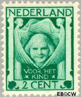 Nederland NL 141  1924 Kinderkopje tussen engelen 2+2 cent  Ongebruikt