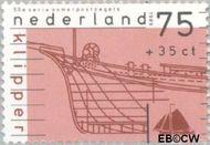Nederland NL 1426  1989 Schepen 75+35 cent  Postfris