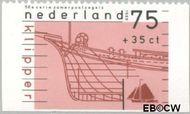 Nederland NL 1427d  1989 Schepen 75+35 cent  Gestempeld